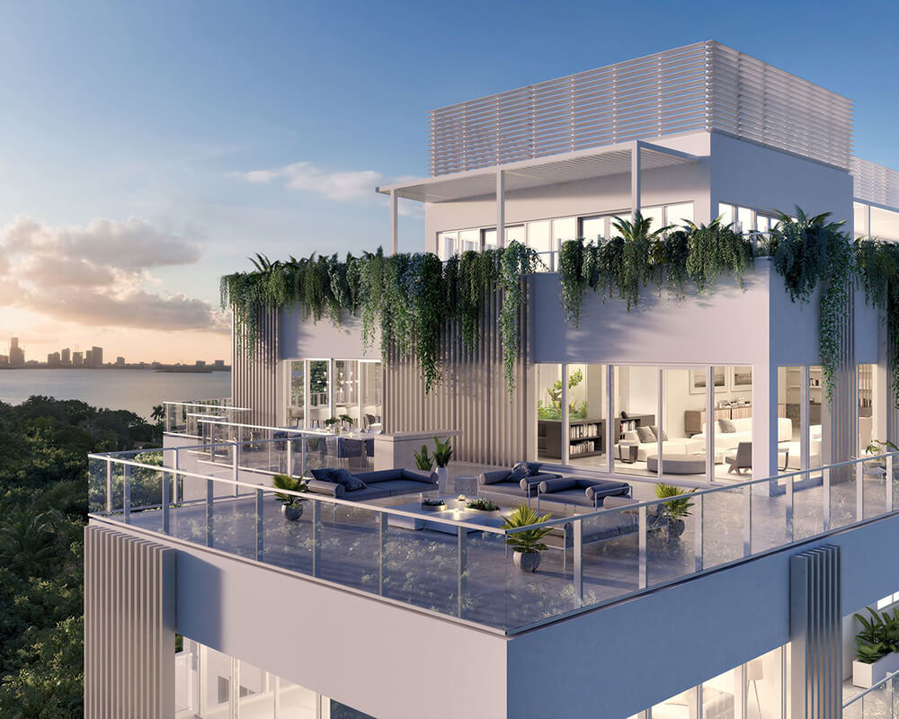 Mansion Global-Designing an Outdoor Space for a Penthous
